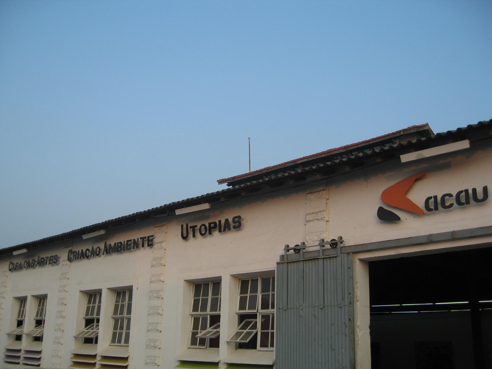 Cacau, Casa das artes, criação, ambiente, utopias em São Tomé