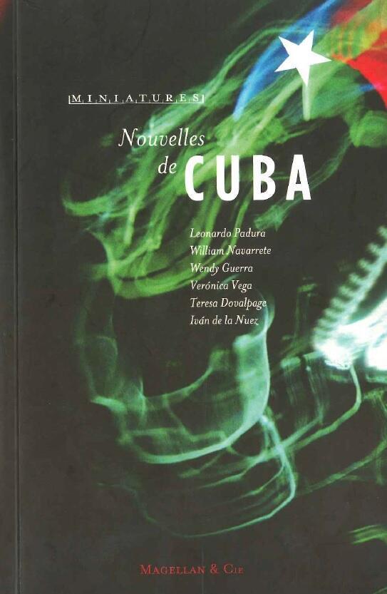 Tapa de 'Nouvelles de Cuba', Editorial Magellan, 2016.