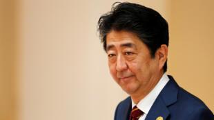 Le Premier ministre japonais Shinzo Abe au sommet de l'Apec, à Danang, le 11 novembre 2017.
