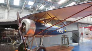 Morane Saulnier AI restauré par le musée de l'air et de l'espace.