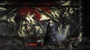 """Gaële Boghossian es """"Medea"""" en esta puesta en escena de Paulo Correia."""
