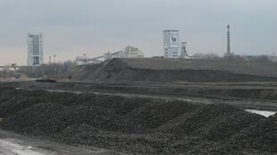 Mine de charbon à ciel ouvert à Bielszowice, en Pologne.