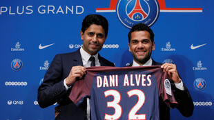 Paris Saint-Germain ta gabatar da Dani Alves