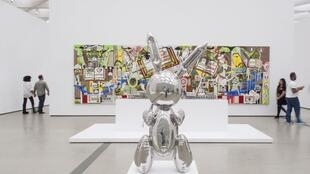 Une sculpture du plasticien américain Jeff Koons a été vendue mercredi 91,1 millions de dollars lors d'enchères organisées par la maison Christie's à New York.