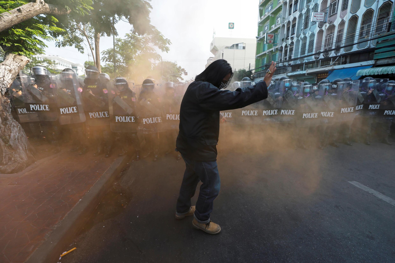 Thailand Protests Manifestations