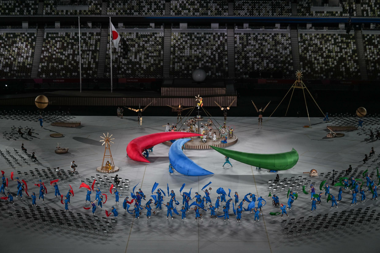 Cérémonie d'ouverture des Jeux paralympiques, le 24 août 2021 à Tokyo