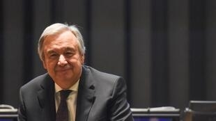 António Guterres, o secretário-geral das Nações Unidas