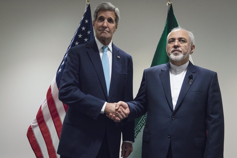 Главы дипломатий США и Ирана.