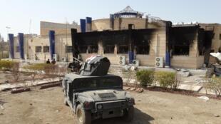 gari la kijeshi la Iraq katika mji wa Ramadi