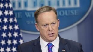 Sean Spicer, le porte-parole de la Maison Blanche.