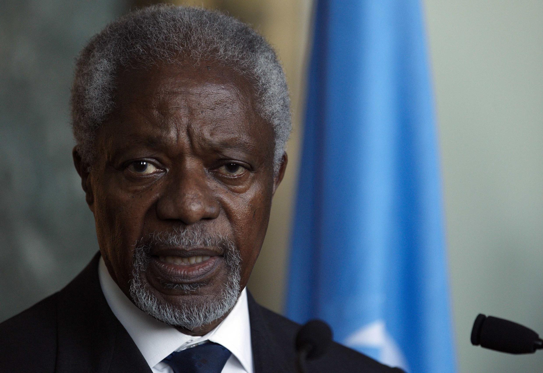 O enviado especial das Nações Unidas e da Liga Árabe, Kofi Annan, quer convencer Rússia e China a apoiar o cessar-fogo na Síria.