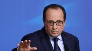 Shugaban Faransa, François Hollande
