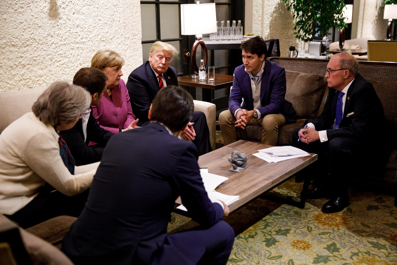 Para uns o comportamento do presidente Donald Trump foi infantil, para outros uma demonstração de força de recusar-se a assinar o acordo proposto pelo grupo G7.