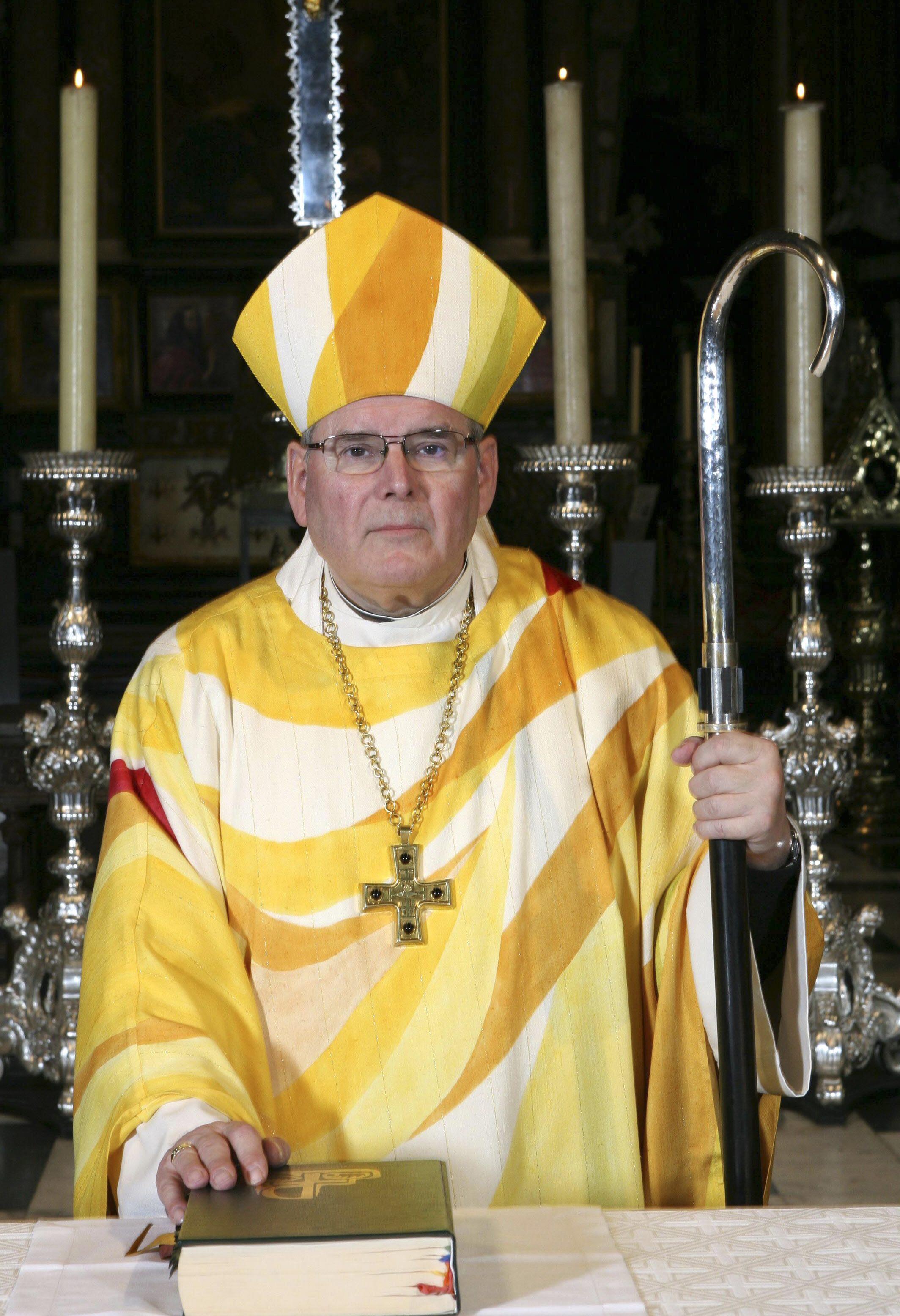 Roger Vangheluwe, formerly bishop of Bruges.
