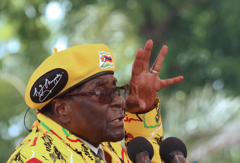 លោក Robert Mugabe ថ្ងៃទី៧ វិច្ឆិកា ២០១៧