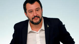 Salvini anunciou a queda no número de entrada de migrantes pelo mar