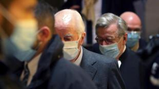 Бывший премьер-министр Франции Эдуар Балладюр. Начало судебного процесса, 20 января 2021.