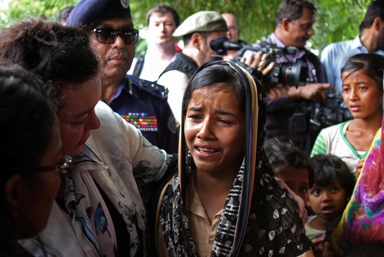 Minoria rohingya em Bangladesh (29/04/2018).