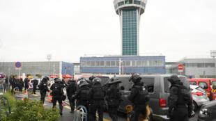 эвакуация аэропорта Орли. 18 марта 2017