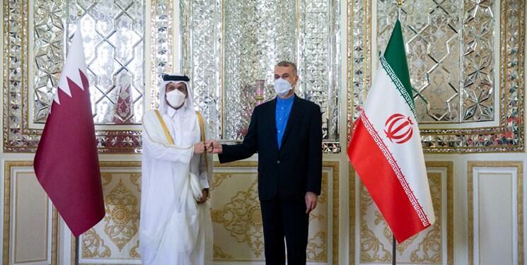 Mohammed ben Abderrahmane Al-Thani & Hossein Amir-Abdollahian