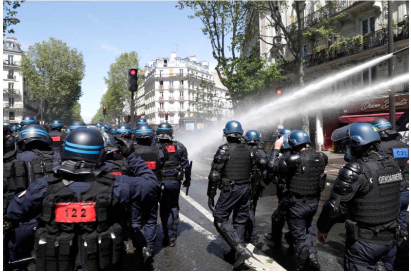 Paris Manif palestiniens