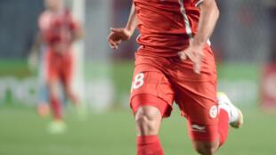 Wahbi Khazri a marqué le premier but de la Tunisie face au Libéria.