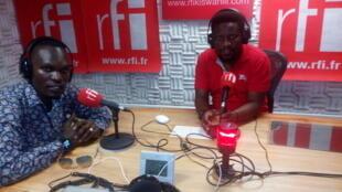 Msanii Toxy Star ndani ya Studio za RFI Kiswahili na @billy_bilali