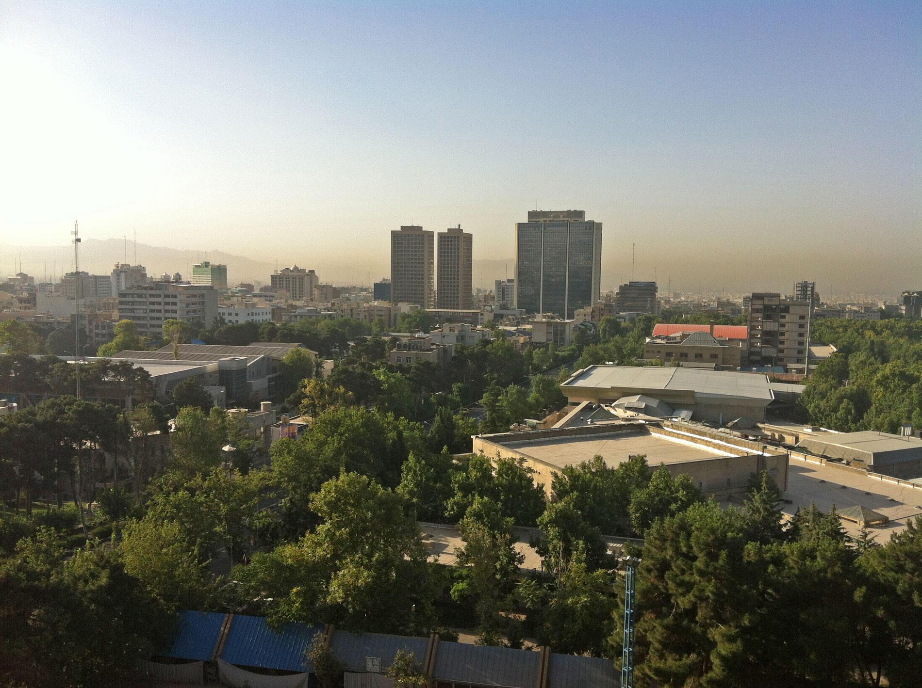 Vue de Téhéran (photo d'illustration).