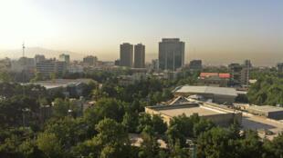 Vue de Téhéran.
