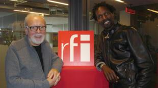 Jean-Jacques Milteau et Pédro Kouyaté à RFI.