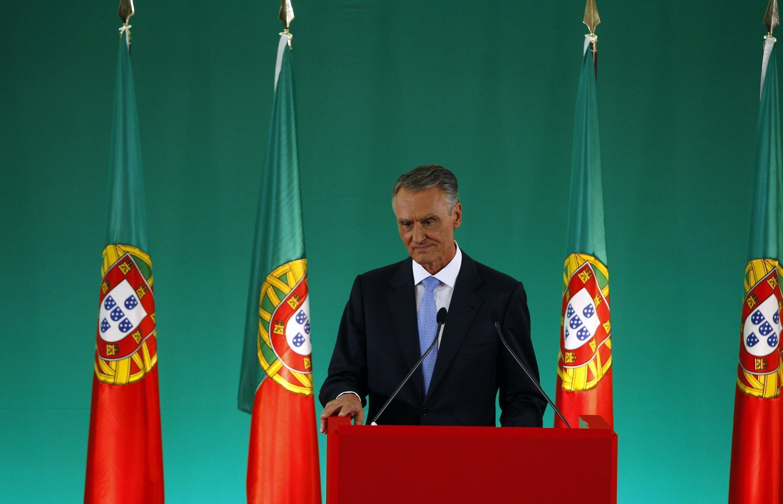 O presidente de Portugal, Anibal Cavaco Silva.