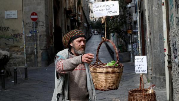 A la crise sanitaire s'ajoute désormais une crise sociale très grave faute d'emplois et de revenus pour de nombreux habitants italiens. (Image d'illustration)
