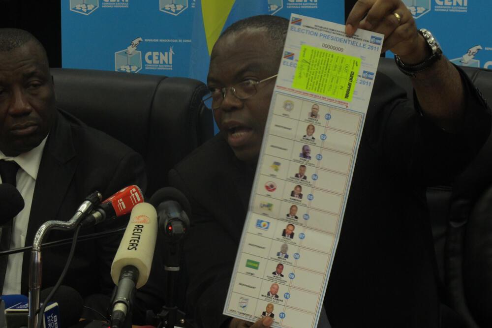 Mchungaji Daniel Ngoy Mulunda, mwenyekiti wa zamani tume ya uchaguzi CENI nchini DRC.