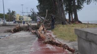 Terramoto em Moçambique, fustigado 22 de dezembro por sismo no centro.