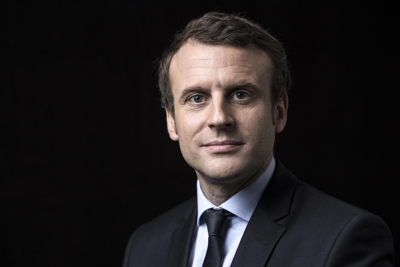 Emmanuel Macron, candidat à l'élection présidentielle.