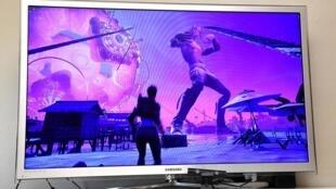Le concert de Travis Scott sur le jeu vidéo Fortnite.