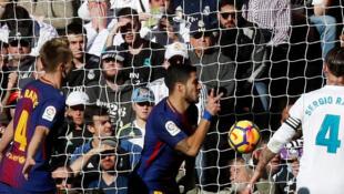 'Yan wasan Barcelona da Real Madrid