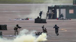 台灣舉行年度軍演 2018年6月7日