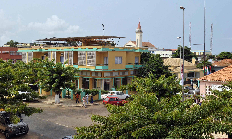 Cidade de Cabinda, no enclave do mesmo nome.