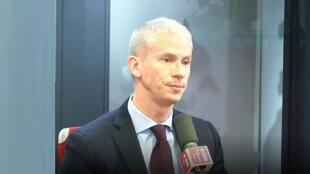 Franck Riester, ministre français de la Culture.