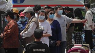 5月19日北京,一疫苗接種處