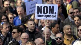 Várias manifestações estão previstas em todo o mundo para marcar a Jornada mundial de luta contra a homofobia.