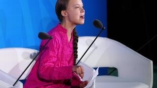 Tại thượng đỉnh Liên Hiệp Quốc về khí hậu, ngày 23/09/2019, thiếu nữ Greta Thunberg chỉ trích mạnh mẽ các lãnh đạo thế giới.