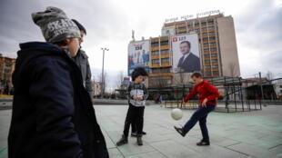 élections legislatives kosovo pristina affiche