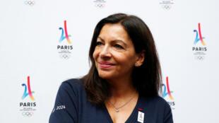 Anne Hidalgo, prefeita de Paris, está em Lima para o anúncio da cidade como sede das Olimpíadas de 2024