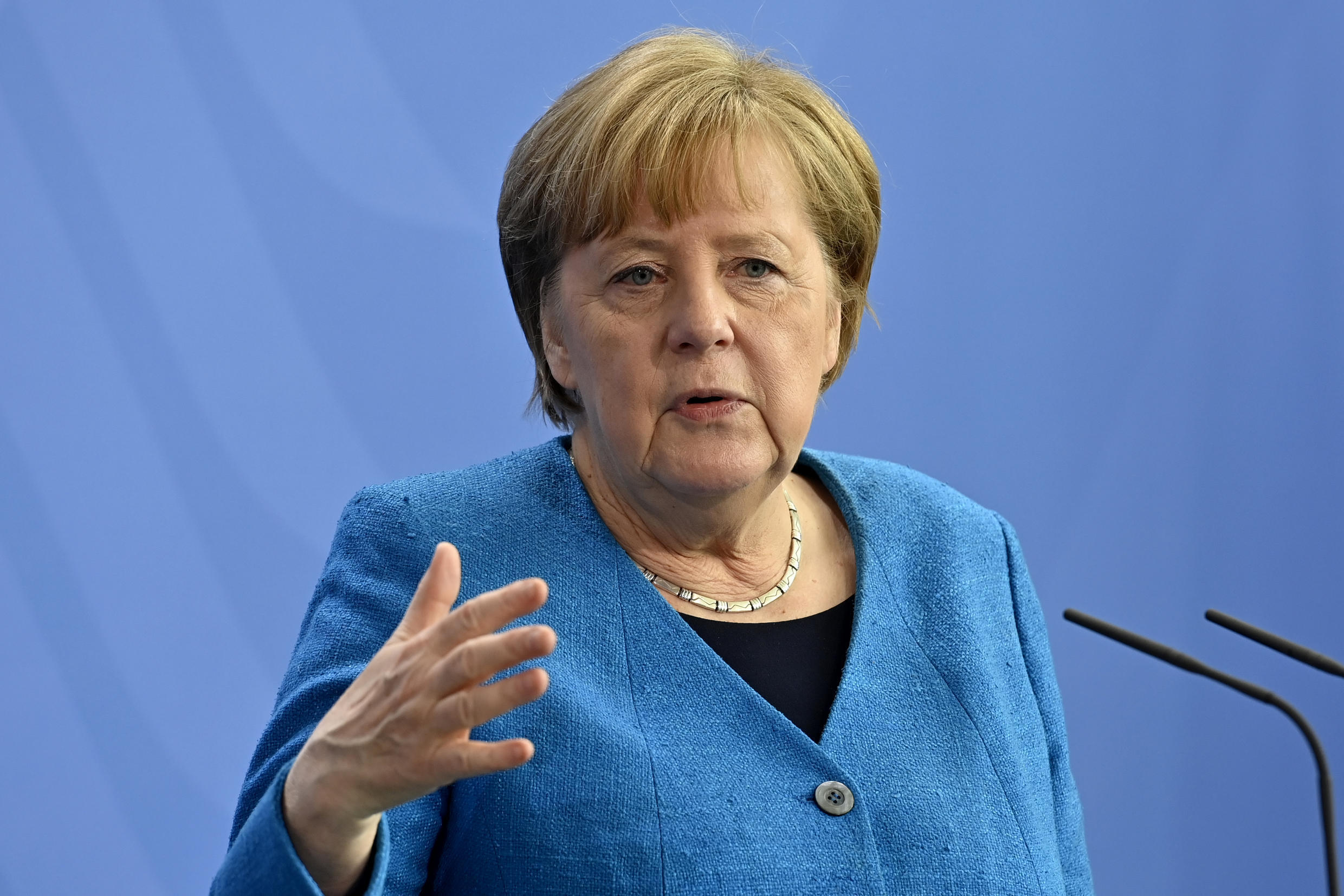 Chancellor Angela Merkel has been at Germany's helm for 16 years
