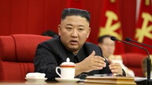 朝鮮最高領導人金正恩近照