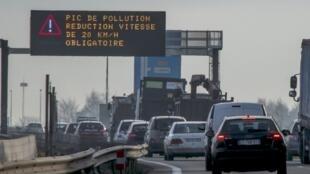 La France va être renvoyée devant la Cour de justice de l'UE à cause de la pollution aux particules fines.