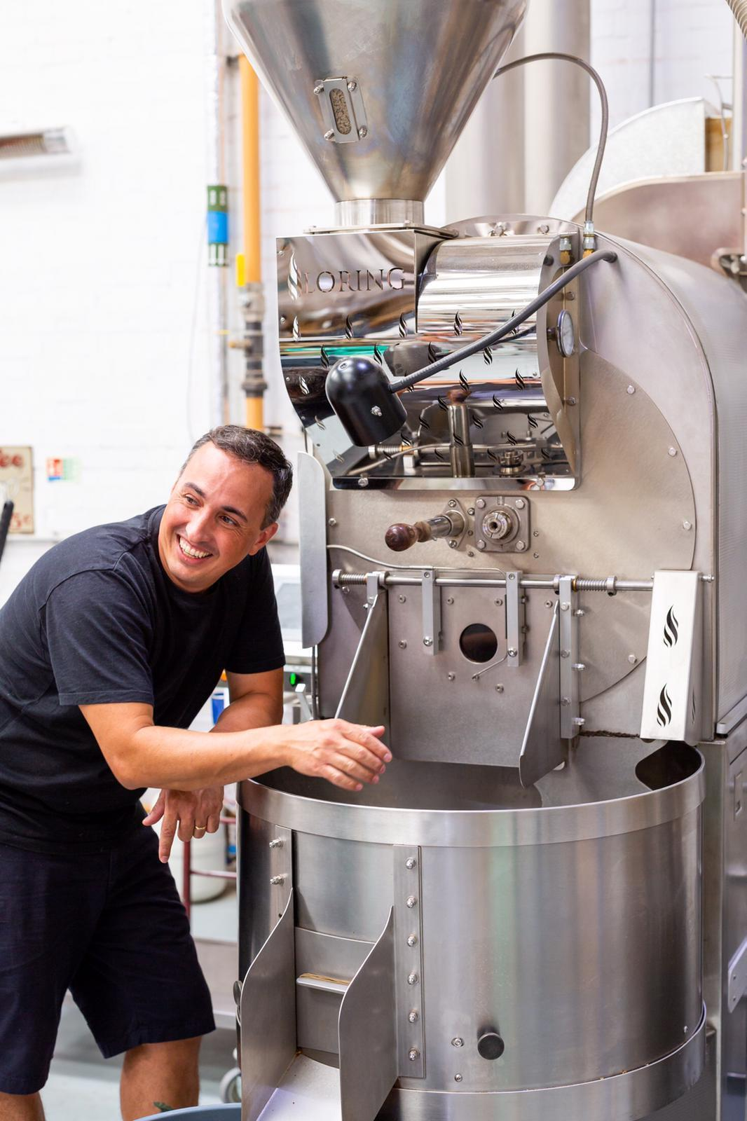 Fábio Ferreira co-fundador do Notes Coffee Roasters & Bars