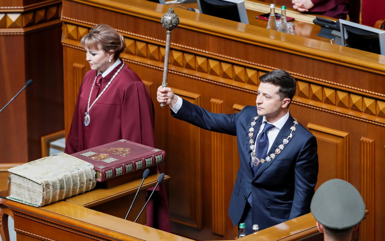 Инаугурация шестого президента Украины Владимира Зеленского, 20 мая 2019